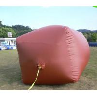 Buy cheap 0.5m3 - 200m3 Soft Methane Storage Tank , Fireproof Balloon Gas Tank from wholesalers