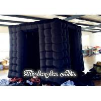Buy cheap Black Inflatable Octagonal Photo Booth without Photo Kiosk for Sale from wholesalers