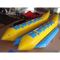 Buy cheap 10 Seats Double Banana Boat Inflatable Water Games With 0.9mm Pvc Tarpaulin from wholesalers
