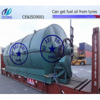 Buy cheap Doing pyrolysis plant from wholesalers