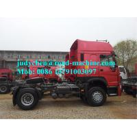 Buy cheap 10 Tires EuroII SINOTRUK HOWO Tractor Truck RHD 6X4 Euro2 420HP ZZ4257V3241V from wholesalers