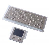 Buy cheap Vandal proof industial keyboard integrate touchpad pointing device USB or PS/2 interface from wholesalers