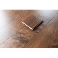 Buy cheap American Black Walnut Engineered wood flooring, AB grade, flat surface with color stain, from wholesalers