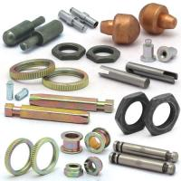 Buy cheap Precision Turned Copper Metal Machined Parts Galvanized With 0.005mm Tolerance from wholesalers