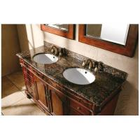 Buy cheap Ogee Edge Granite Bathroom Countertops , Baltic Brown Granite Countertops from wholesalers