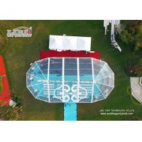 Buy cheap Clear Roof A Frame Outdoor Event Tents With 6061 Aluminum Material from wholesalers