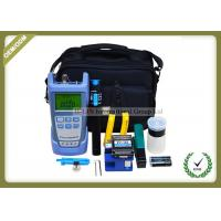Buy cheap Full Set FTTH Tool Kit With Fiber Optic Cleaver FC - 6S / Optical Power Meter from wholesalers