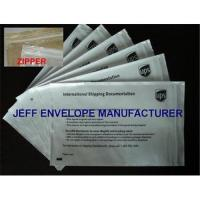 Buy cheap Zipper packing list envelopes from wholesalers