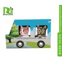 Buy cheap Indoor Corrugated Cardboard Furniture Kitty House Cat Bus Environmental from wholesalers