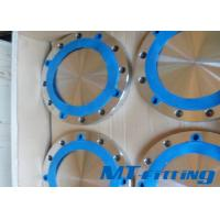 Buy cheap ASTM A815 / ASME SA815 S32750 / S32760 Duplex Steel Blind Flange from Wholesalers