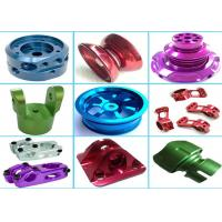 Buy cheap High Precision Aluminum Machined Parts For Hardware Machinery Various Color from wholesalers