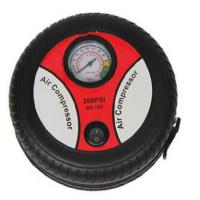 Buy cheap 250psi DC 12 Volt Car Air Compressor For Vehicle Mobile Black and red tire inflator from wholesalers