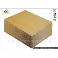 Buy cheap 120 / 140GSM Paper Packing Material , Recycle Packing Material For Corrugated Cardboard from wholesalers