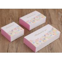 Buy cheap Three Size Custom Recycled Paper Cake Boxes ,  Flower Patterns Mooncake Paper Box from wholesalers