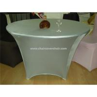 Buy cheap Spandex tablecloth wholesale from wholesalers
