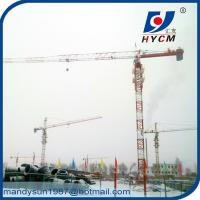 Buy cheap QTP4810 Topless Tower Crane Wire Rope 1.0ton Tip Load 48m Jib Crane from wholesalers