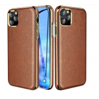 Buy cheap Flip Genunine Leather 6.1 Inch Protective Iphone Cases from wholesalers