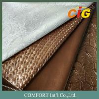 Buy cheap Upholstery Fabric PVC Artificial Leather Colorful With Different Thickness product