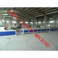 Buy cheap WPC Corridor Profile Extrusion Machine , PP / PE Profile Machine from wholesalers