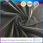 Buy cheap Haining Micro Velvet Spandex Korea Velvet Women Dress Fabric Upholstery Fabric from wholesalers