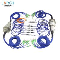 Buy cheap Multi - Channels Fiber Optic Rotary Joint  High Speed With Aluminum Housing from wholesalers