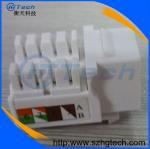 Buy cheap White Color Cat6 RJ45 Keystone Jack Female Cat6 Jack  Dual IDC from wholesalers
