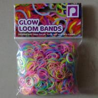 Buy cheap DIY Loom bands glow loom bands from wholesalers