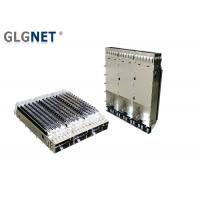 Buy cheap 1X3 Ganged Metal QSFP28 Cage EMI Tabs Heat Sink For EMI Protection from wholesalers