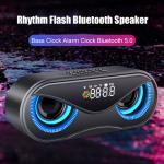 Buy cheap Plastic Shell LED Flash 2500mAh Creative Bluetooth Speaker from wholesalers