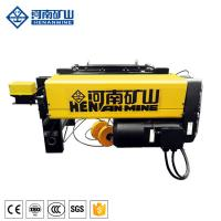 Buy cheap 3 Phase 1 Ton Electric Wire Rope Hoist Low Speed Wireless Remote Control from wholesalers