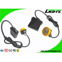China 10000lux LED Coal Mining Lights 7.8Ah Li-ion Battery Big Capacity 18 Hours Long Lighting Time on sale