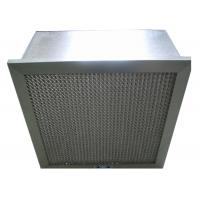 Buy cheap Disposable Hospital Hepa Room Air Filters , Pharmacy Deep Pleat Hepa Filter from wholesalers