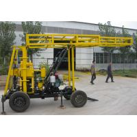 Buy cheap Hydraulic water well drilling rigs , exploration water drill rig east to move from wholesalers