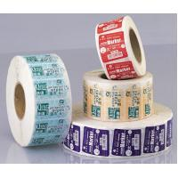 Buy cheap Customized daily chemical baby wipes removable Adhesive Labels stickers tags from wholesalers