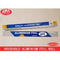 Supermarket Heavy Duty Tin Foil, Food Grade Aluminium Foil10 Micron Thickness