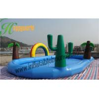 Buy cheap Portable Happy Island Big Deep Inflatable Water Pool For Adults And Children from wholesalers