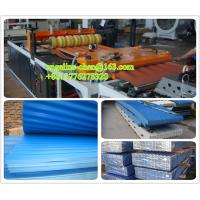 Buy cheap plastic PVC multilayer wave roof tile buidling/roofing material wall panel production line product