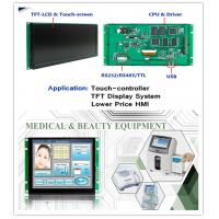 Buy cheap RoHS TFT LCD Display Module 65K Color Fonts And Icon Control Board 2GB Flash Memory from wholesalers