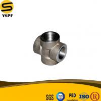 Buy cheap ASTM A105 Carbon Steel Thread Cross Forged Pipe Fitting from wholesalers