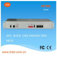 Buy cheap E1 G. 703 (BNC/RJ45) to Fibre (75-AC/DC)16 E1 Pdh Multiplexer Chassis Type from wholesalers