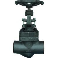 Buy cheap Forged steel sw ends globe valve A105 N from wholesalers