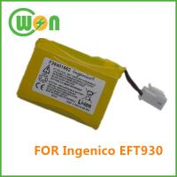 Buy cheap F26401652 Replacement battery for Ingenico EFT930 Series Credit card Terminal from wholesalers