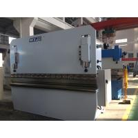Mild Steel Stainless Steel Aluminum Sheet Metal Press Brake / Hydraulic Metal Brake Machine
