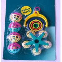 Buy cheap plastic bird toy set for added funs suitable for budgies from wholesalers