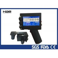 Buy cheap High Efficiency Handheld Inkjet Coder , Bottle Date Coding Machine On Metal from wholesalers