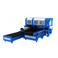 Buy cheap 1500w 3 Phase CO2 Metal Laser Cutting Machine With Flat / Rotary Die Cutting product