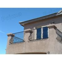 Buy cheap outdoor glass stairs railings / outdoor wrought iron stairs railing from wholesalers