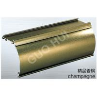 Buy cheap Brushed Finish Aluminium Channel Sections With 6063 Series Champagne Aluminum from wholesalers