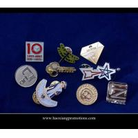 Buy cheap Custom lapel pins with soft enamel and hard enamel color from wholesalers