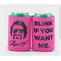 Buy cheap Silk-Screen printing and sublimation printing can holder neoprene can cooler from wholesalers